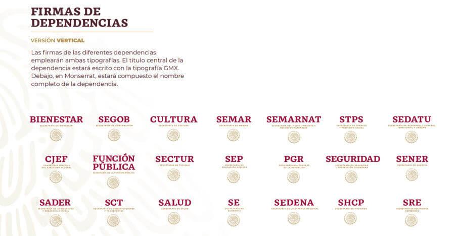 Identidad del Gobierno de México