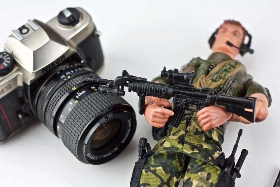 Fotografías de modelos a escala