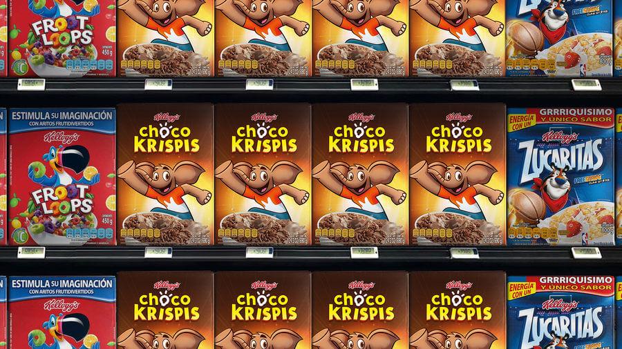 Nuevo logotipo Choco Krispis