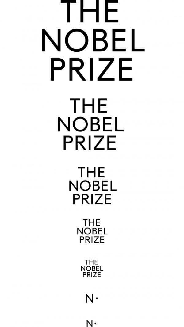 Nuevo logotipo del Premio Noblel
