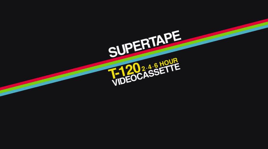 Gráficos y logos de VHS