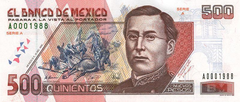 Historia de los billetes mexicanos