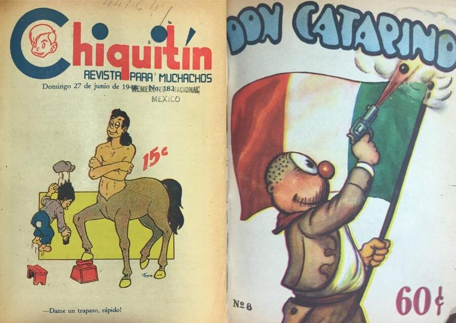 Historietas mexicanas
