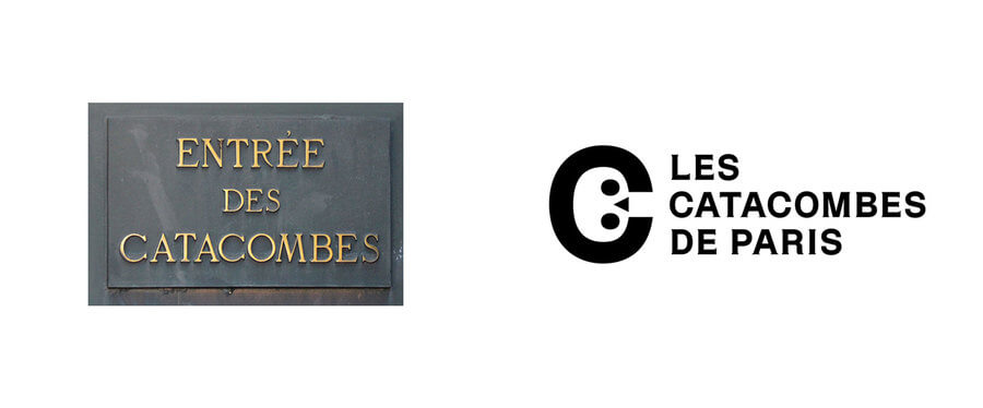 Logo catacumbas de París