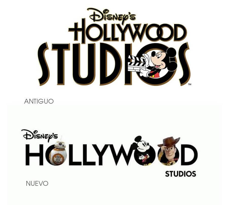 Nuevo logo de Disneys Hollywood Studios