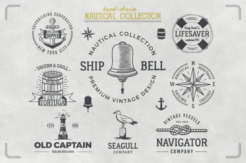 Vectores para hacer diseños vintage