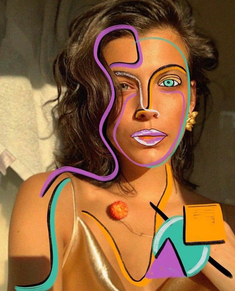 Fotos con pintura digital