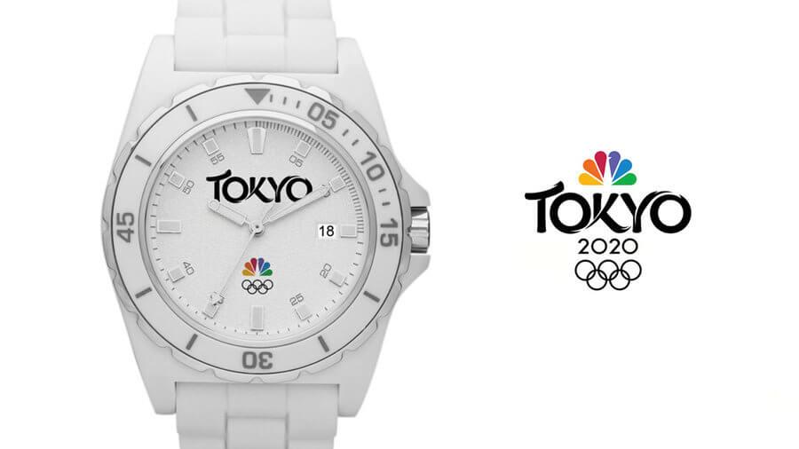 Logo de NBC para Tokyo 2020