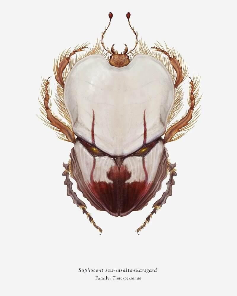 Pinturas de insectos
