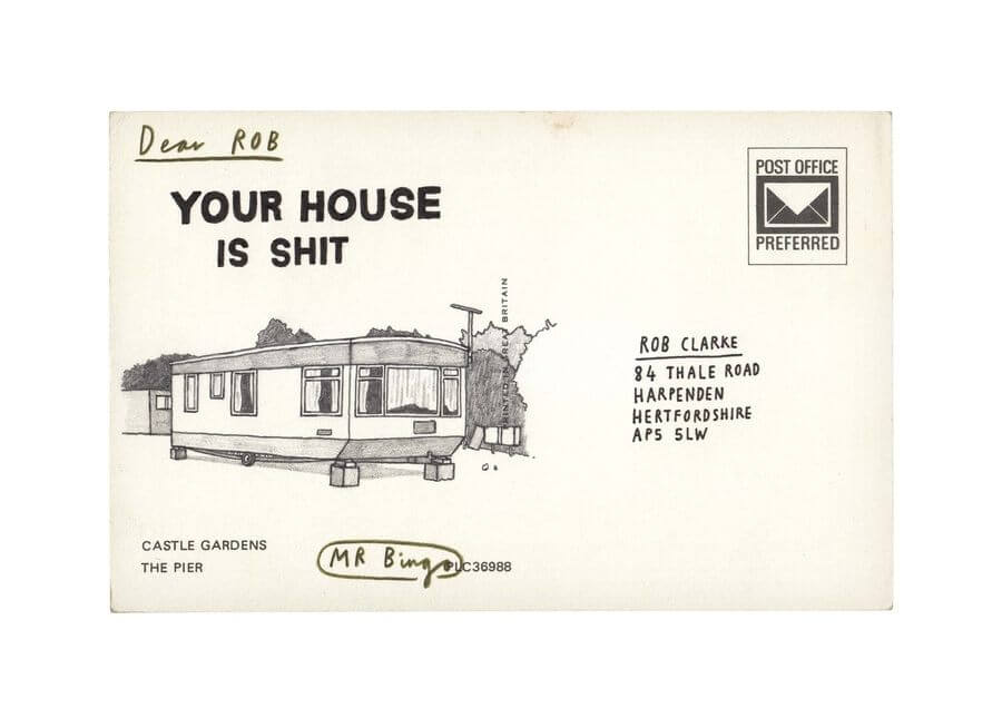 Postales ofensivas