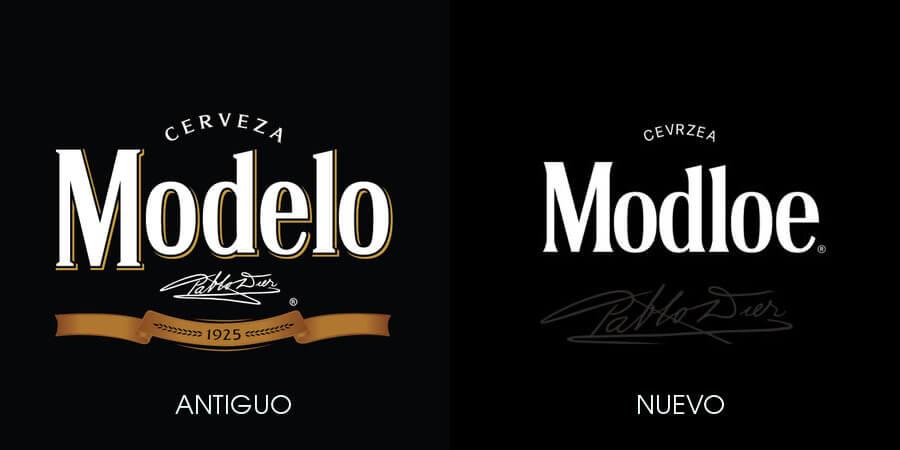 Logo cerveza Modelo