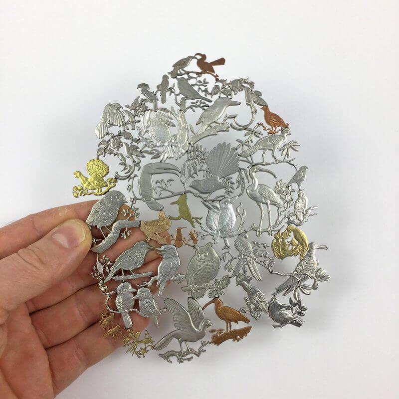 Arte hecho con monedas