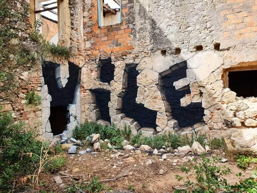 Graffiti transparente