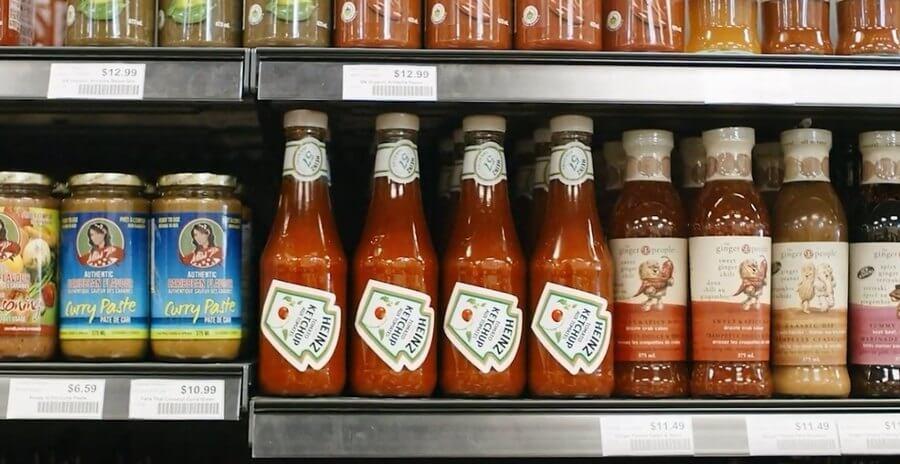 Heinz botella