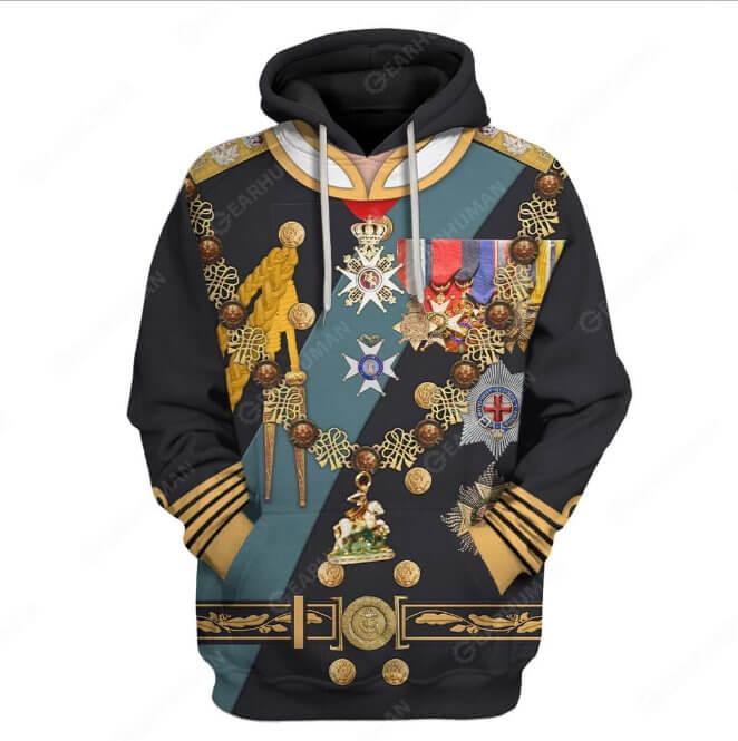 Sudaderas con diseños de uniformes militares