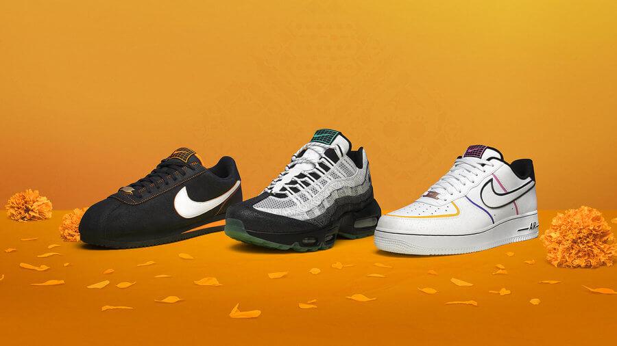 Tenis Nike Día de Muertos