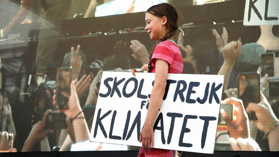Tipografía Greta Thunberg