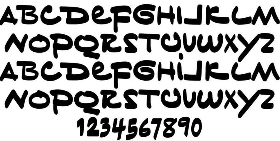 Tiny Hand Font