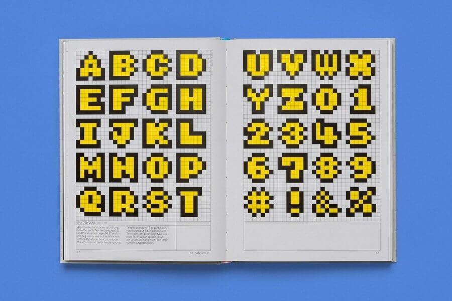 Libro de tipografías en videojuegos