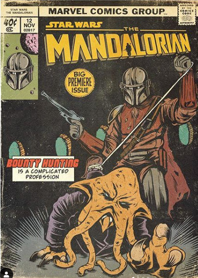 Cómic The Mandalorian