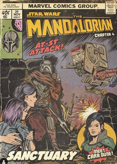 Cómic The Mandalorian