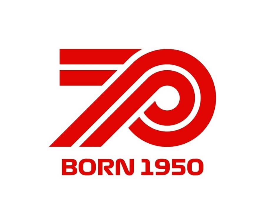 Logo formula uno 70 aniversario