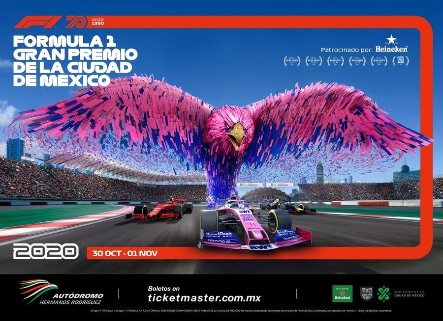Pósters Gran Premio México