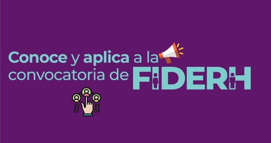 financiamiento FIDERH