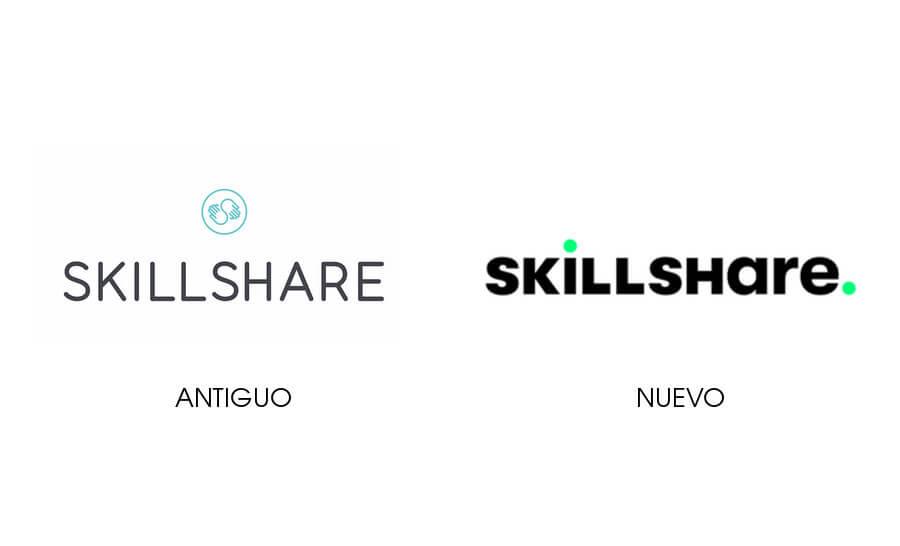 Nuevo logo de Skillshare