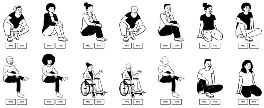 dibujos libres de derechos