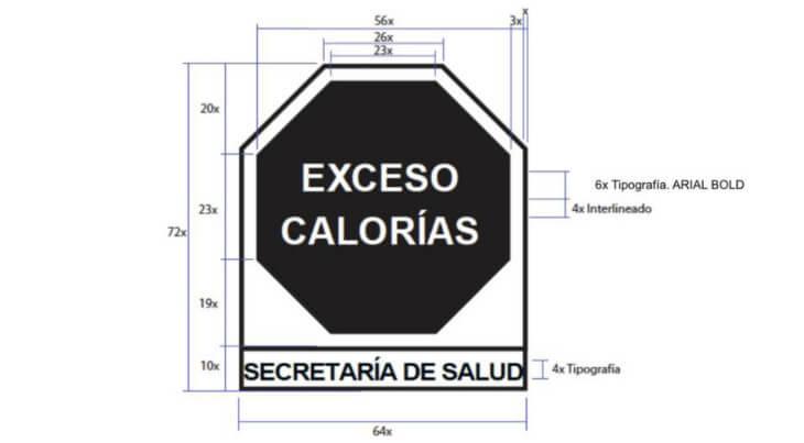 etiquetado para alimentos en México
