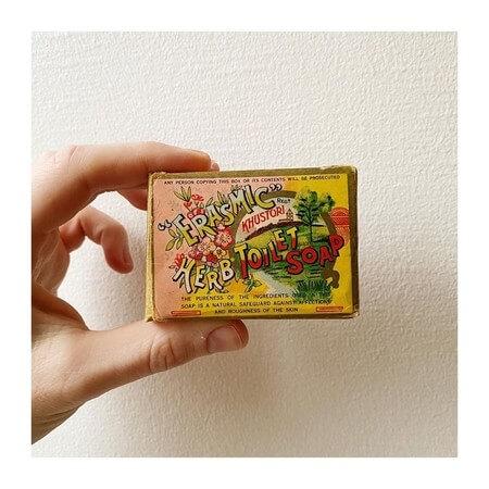 cajas vintage de jabón