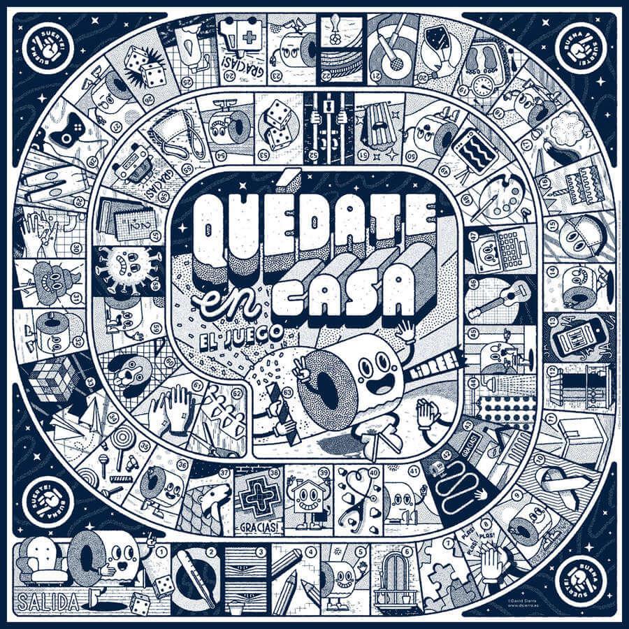 juego de mesa covid19