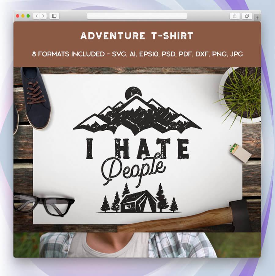 maquetas de camisetas