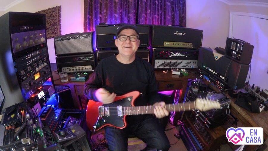 aprende a tocar guitarra electrónica