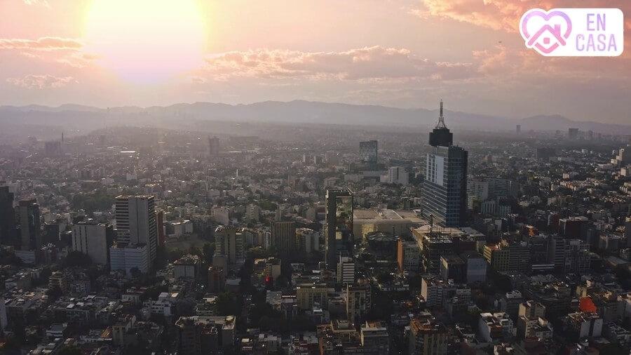 edificios imponentes de la Ciudad de México