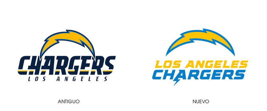 nuevo logotipo Los Angeles Chargers