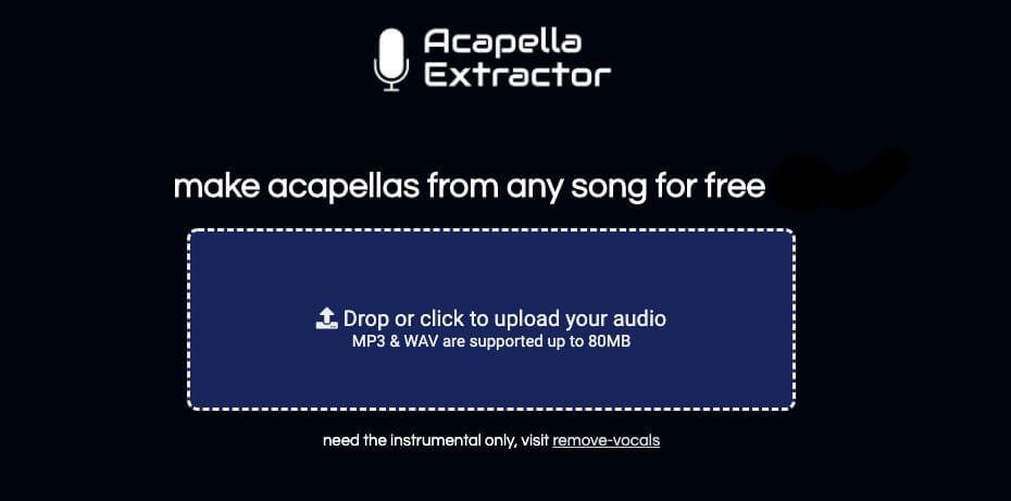 remueve la música de una canción