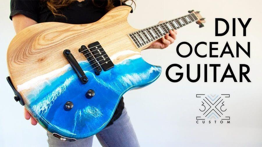 guitarra eléctrica personalizada