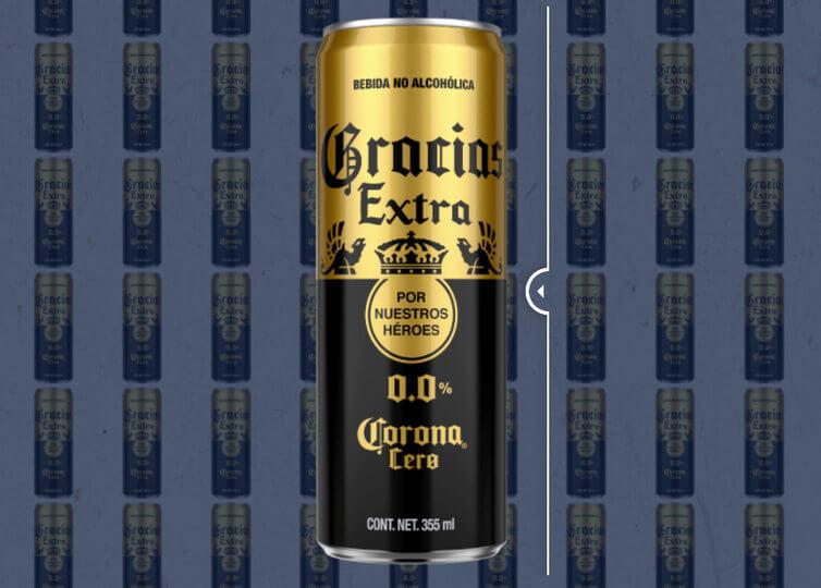 lata edición especial Cerveza Corona