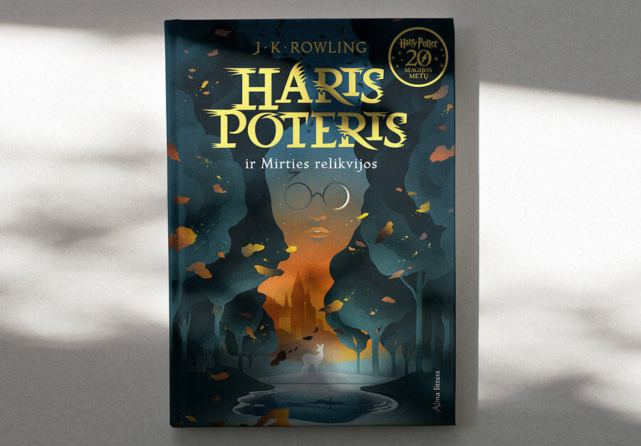 portadas libros de Harry Potter