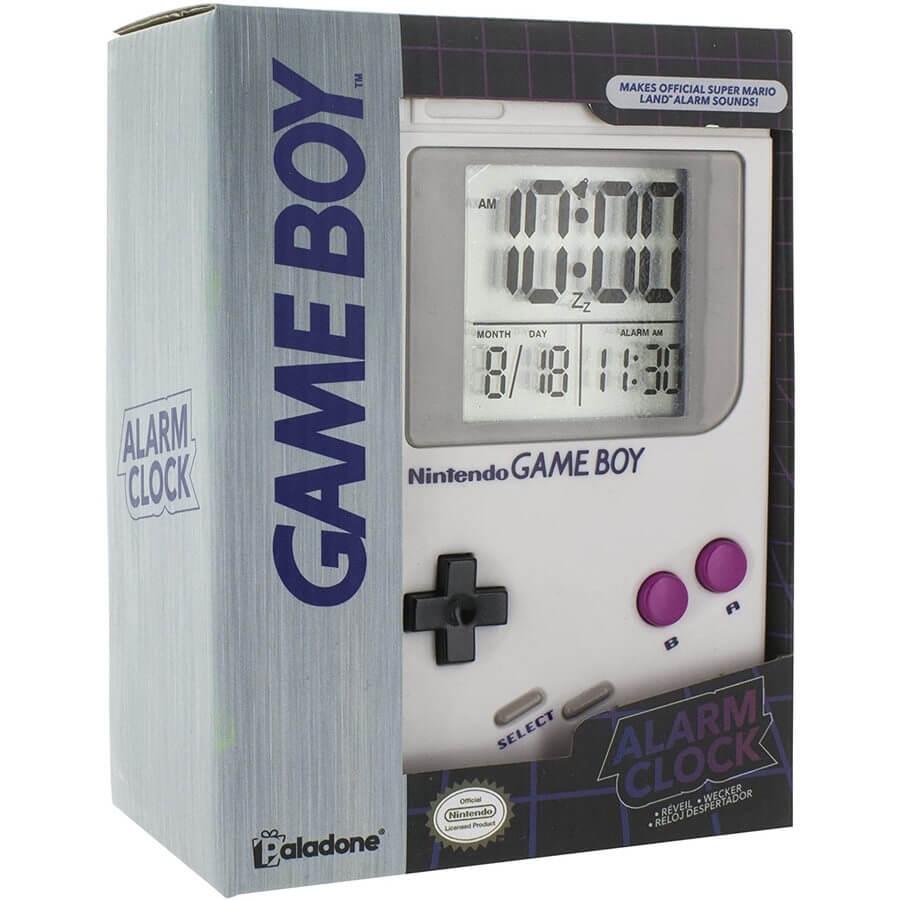 reloj despertador game boy