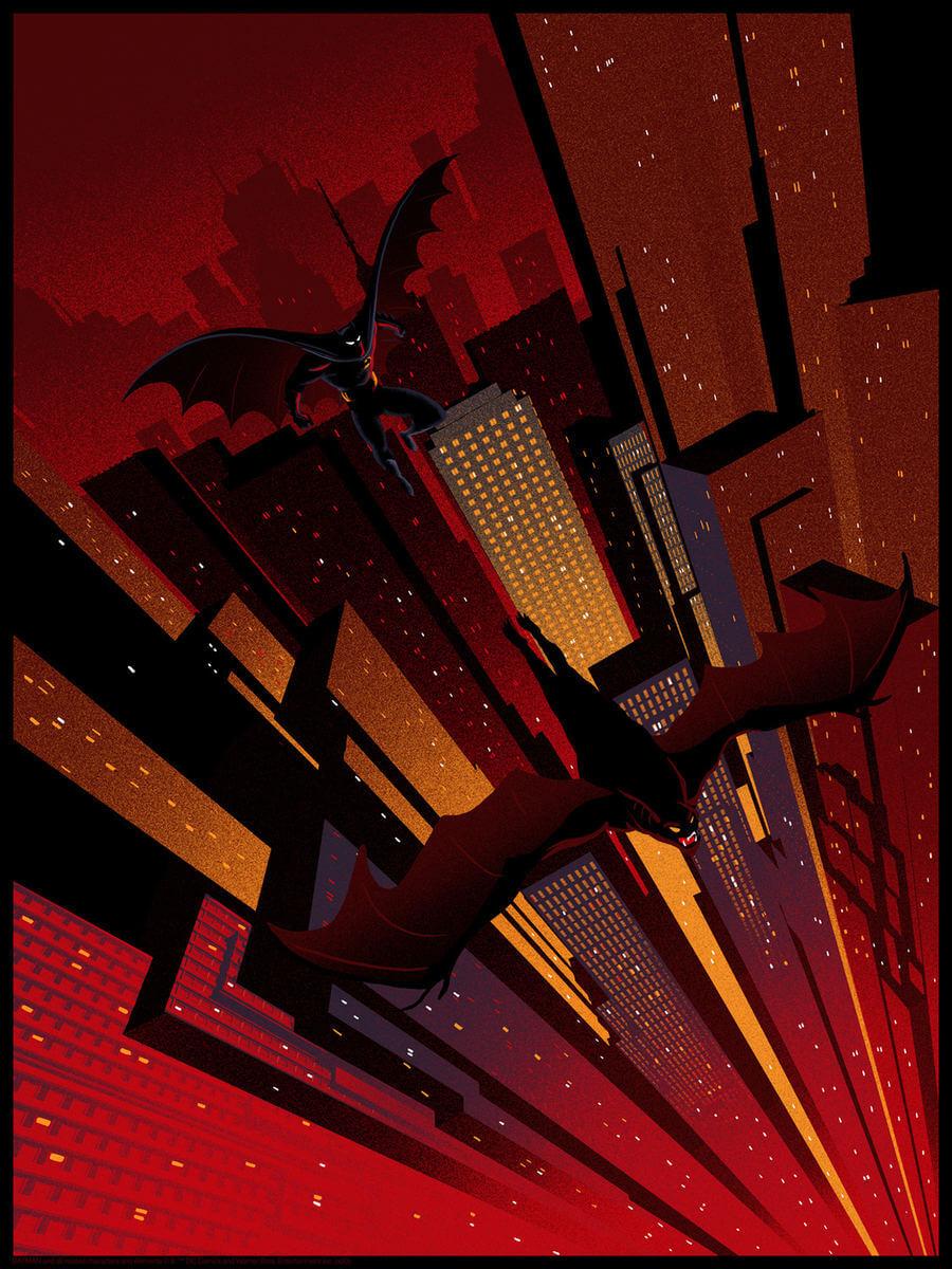 ilustraciones de Batman
