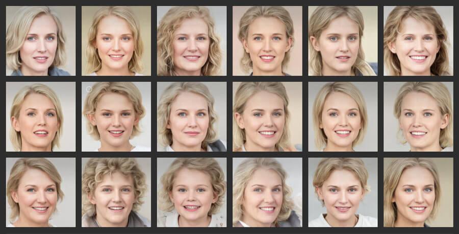 modelos generadas por inteligencia artificial