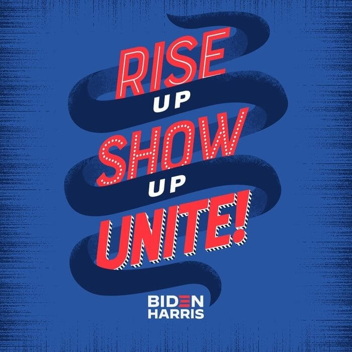 Rise up Show up Unite