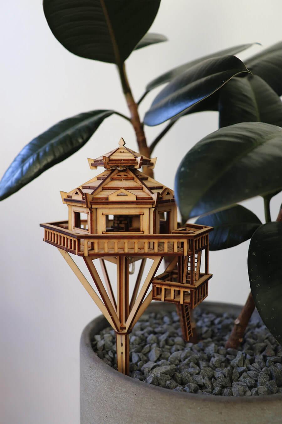 casas en miniatura para armar