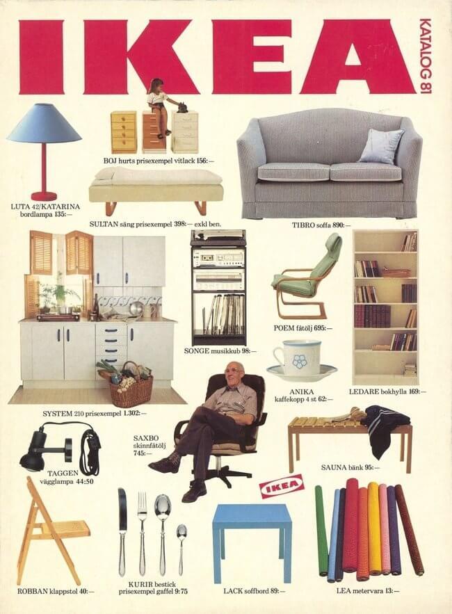 catálogos de IKEA