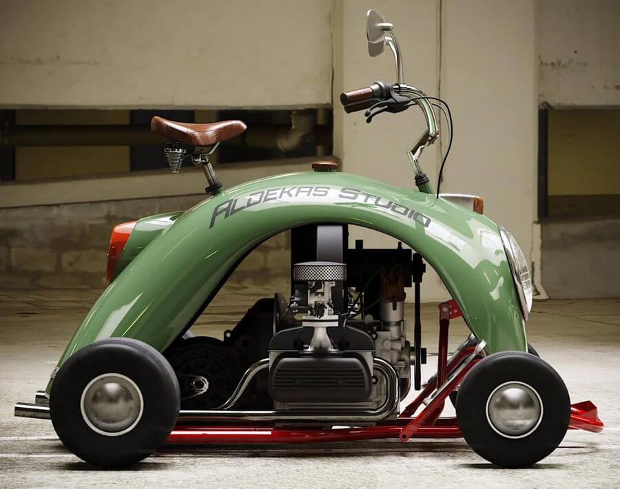 go kart Volkswagen Beetle