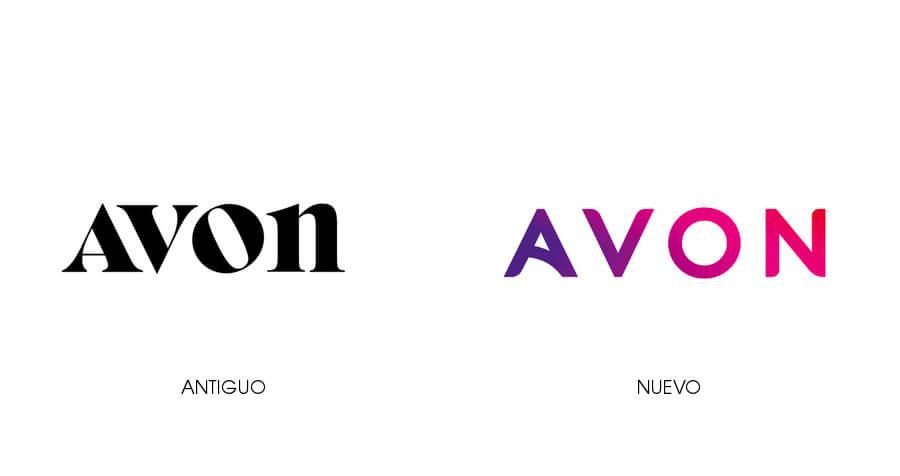 nuevo logo de AVON