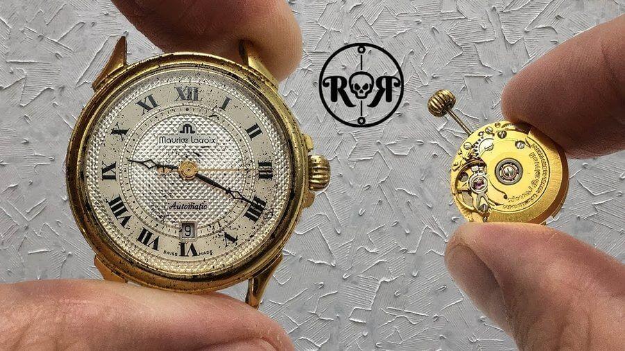 restauraciones de relojes de pulsera antiguos